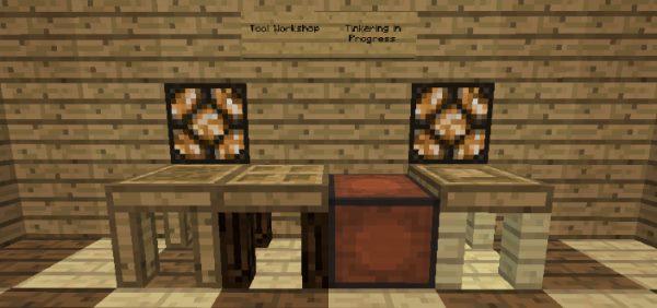 Tinkers' Construct для Майнкрафт 1.12.1