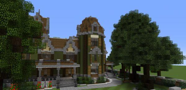 The Anderson Mansion для Майнкрафт 1.12.1