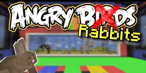 Angry Rabbits для Майнкрафт 1.12.1