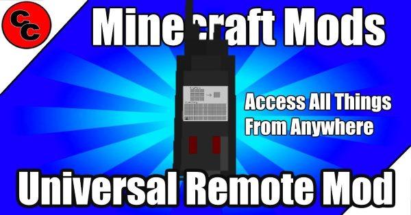 Universal Remote для Майнкрафт 1.12.1