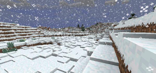 Winter Wonder Land для Майнкрафт 1.12.1