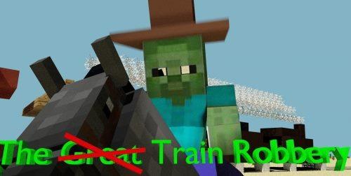 The Train Robber для Майнкрафт 1.12.1