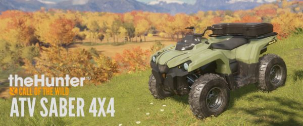 Патч для theHunter: Call of the Wild - ATV SABER 4X4 v 1.10