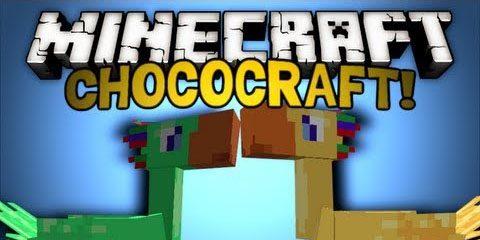 ChocoCraft для Майнкрафт 1.12.1