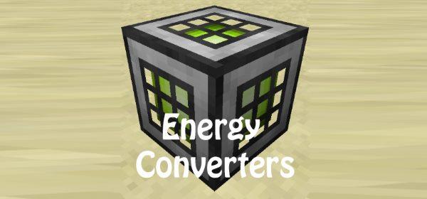 Energy Converters для Майнкрафт 1.12.1