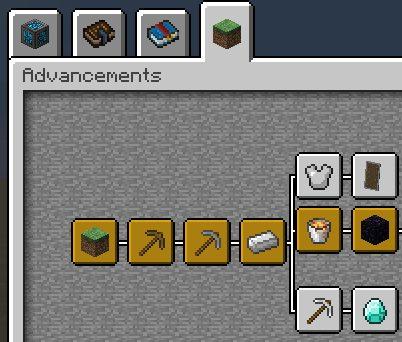Better Advancements для Майнкрафт 1.12.1