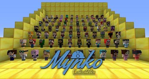 Mynko Collectibles для Майнкрафт 1.11.2