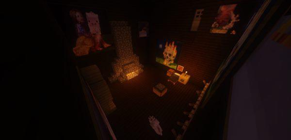 The Dark Room для Майнкрафт 1.12.1