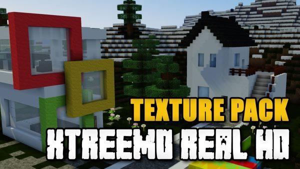 Xtreemo Real HD для Майнкрафт 1.12.1
