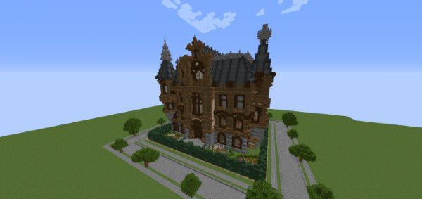 Mayson Mansion для Майнкрафт 1.12.1