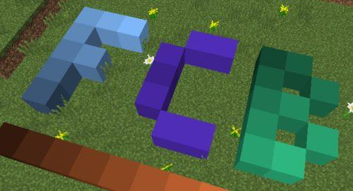 Flat Colored Blocks для Майнкрафт 1.12.1