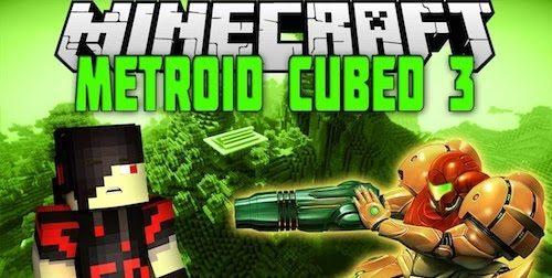 Metroid Cubed 3 для Майнкрафт 1.10.2