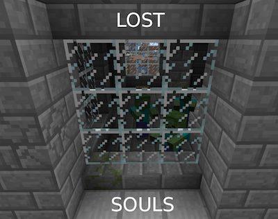 Lost Souls для Майнкрафт 1.12.1