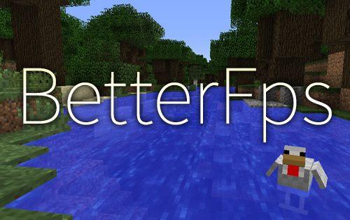 BetterFps для Майнкрафт 1.12.1