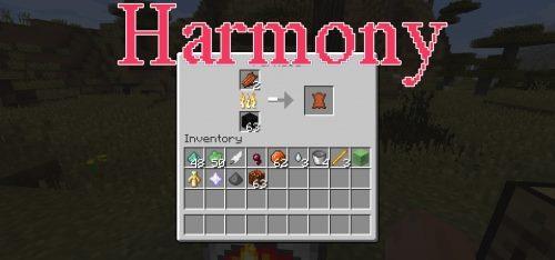 Harmony для Майнкрафт 1.12.1