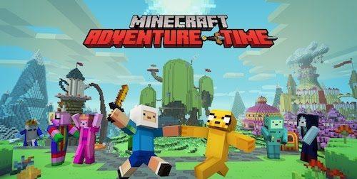 AdventureTime 2 для Майнкрафт 1.12.1