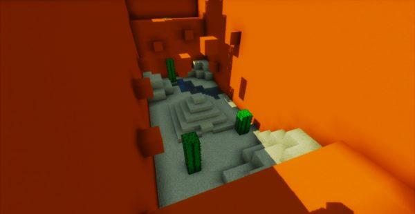 Defeat The Concrete для Майнкрафт 1.12.1