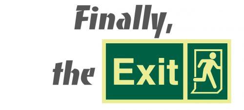 Finally, the Exit! для Майнкрафт 1.12.1