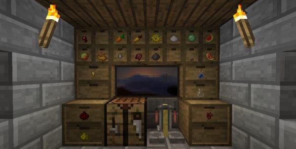 Storage Drawers для Майнкрафт 1.12.1