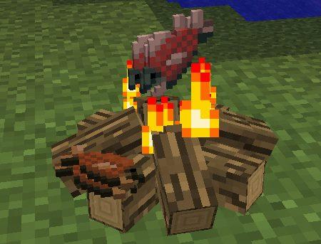 Simple Camp Fire для Майнкрафт 1.12.1