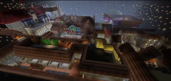Traverse Town для Майнкрафт 1.12.1