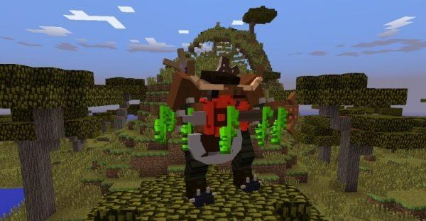 World of Warcraft для Майнкрафт 1.7.10