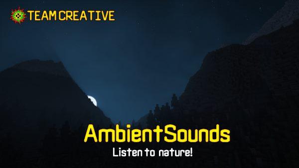 AmbientSounds для Майнкрафт 1.12.1