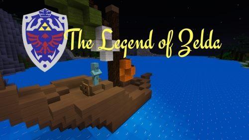The Legend of Zelda для Майнкрафт 1.12.1