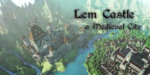 LEM Castle для Майнкрафт 1.12.1