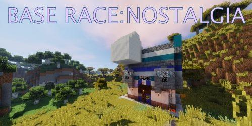 Base Race: Nostalgia для Майнкрафт 1.12.1