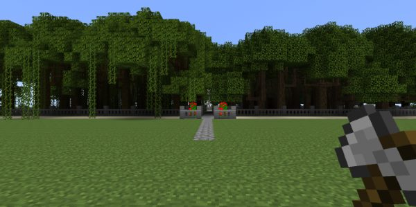 Dynamic Trees для Майнкрафт 1.12.1