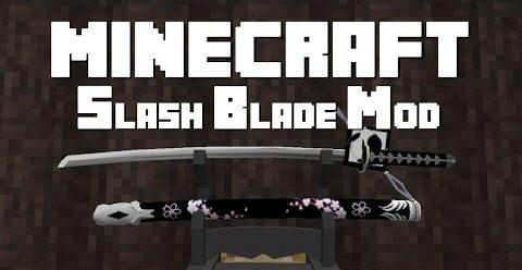 SlashBlade для Майнкрафт 1.12.1