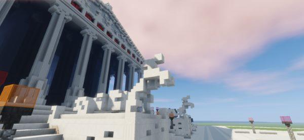 Temple of Artemis для Майнкрафт 1.12.1