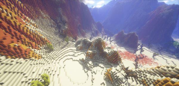Desert Terraforming для Майнкрафт 1.12.1