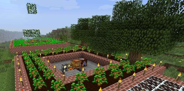 Forestry для Майнкрафт 1.12.2