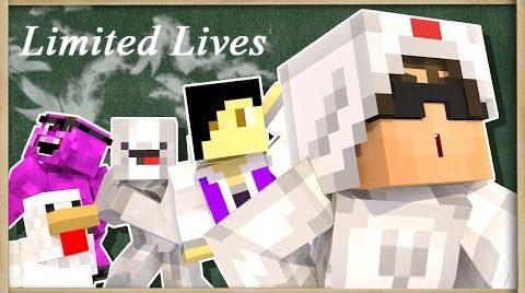 Limited Lives для Майнкрафт 1.12.2