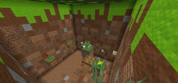 Giant Blocks Tunnel для Майнкрафт 1.12.2