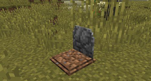 GraveStone для Майнкрафт 1.12.2