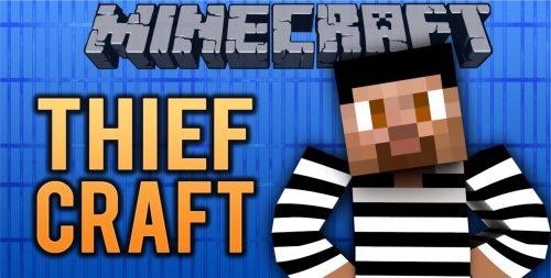 Thief Craft Puzzle для Майнкрафт 1.12.2