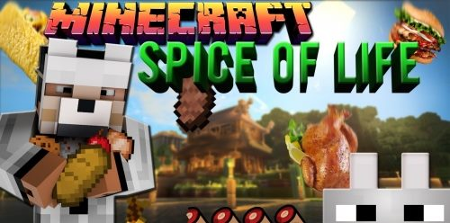 The Spice of Life для Майнкрафт 1.12.2