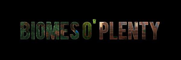 Biomes O' Plenty для Майнкрафт 1.12.2