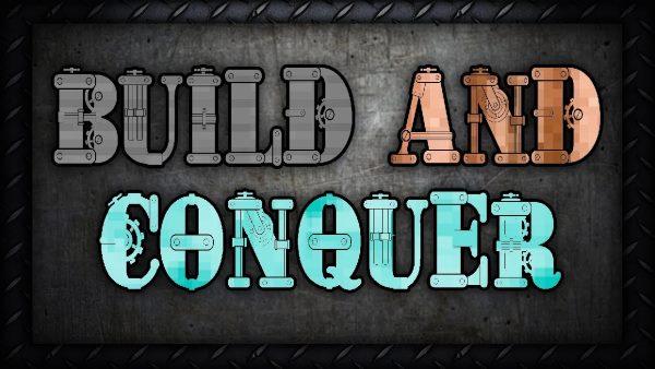 Build And Conquer для Майнкрафт 1.12.1