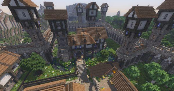 The City of Narne для Майнкрафт 1.12.2