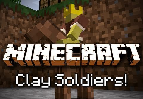 Clay Soldiers для Майнкрафт 1.12.2