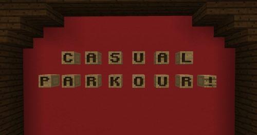 Casual Parkour для Майнкрафт 1.12.2