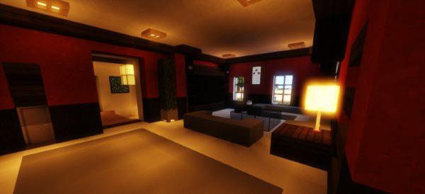 Large Suburban House для Майнкрафт 1.10.2