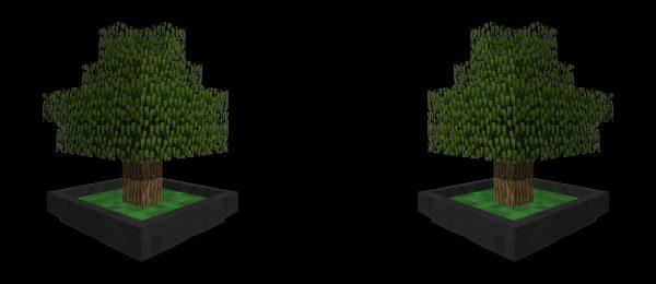 Bonsai Trees для Майнкрафт 1.12.2