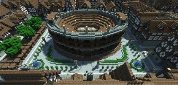 City of Thrair для Майнкрафт 1.12.2