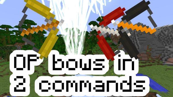 Op Bows для Майнкрафт 1.12.2