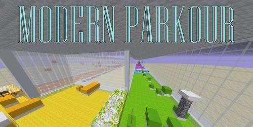 Modern Parkour для Майнкрафт 1.12.2